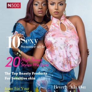 Beverly Osu And Nancy Isime on The Celebrity Shoot Magazine