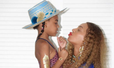 Beyonce Shows Off Her Baby Bump & Blue Ivy in a Festive Bikini for Memorial Day