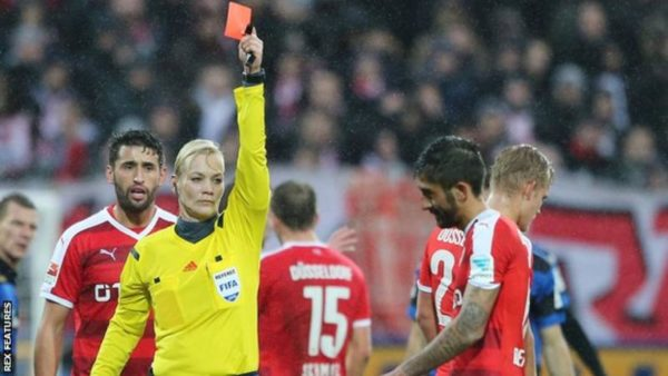 German Policewoman Bibiana Steinhaus becomes First European Female Referee