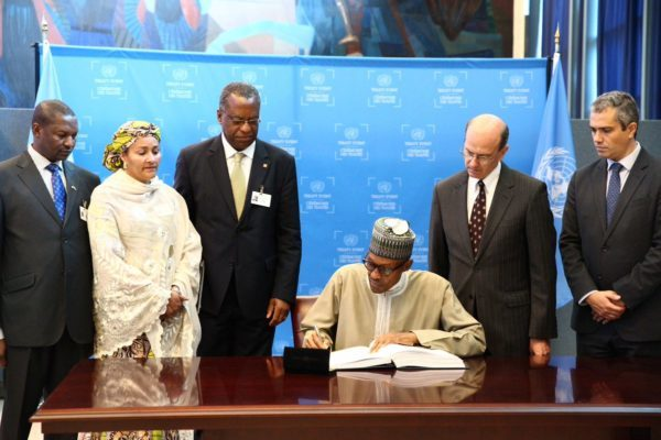 Nigeria is the 146th Country to endorse Paris Climate Change - United Nations