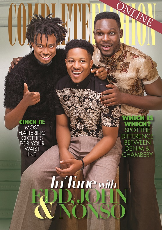 In Tune with Ed, Jon & Nonso as They Cover Complete Fashion Online's Latest Issue