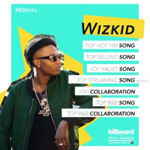 BellaNaija - Wizkid snags 7 Nominations for 2017 Billboard Music Awards
