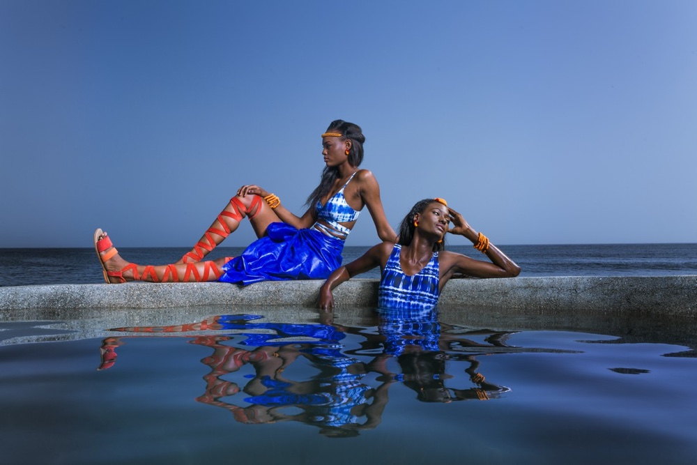 Senegalese Designer DIARRABLU uses Mathematics to Create Swimsuits | See the Infinity Campaign