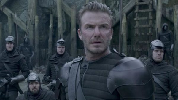 David Beckham stars in Hollywood Film 'King Arthur: Legend of the Sword'