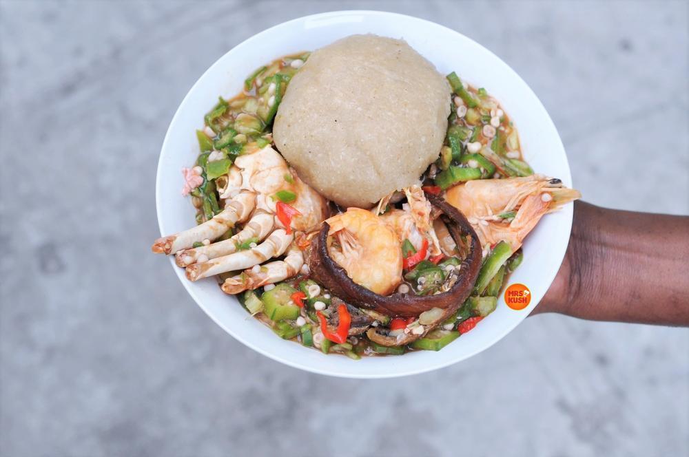 EBA: Mrs Kush's Men Empowerment Series: Okro Soup & Eba