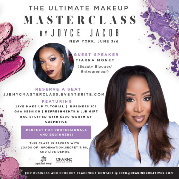 Joyce Jacob makeup masterclass