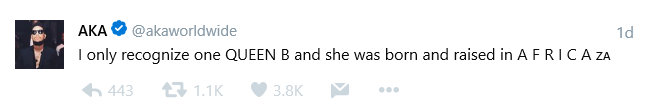"""BellaNaija - """"I only recognize one Queen B"""" - AKA claims Bonang is more African than Beyonce"""