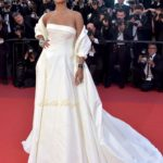 Rihanna Makes a Major Style Statement in an Ivory Bridal Dress at #Cannes2017 Festival