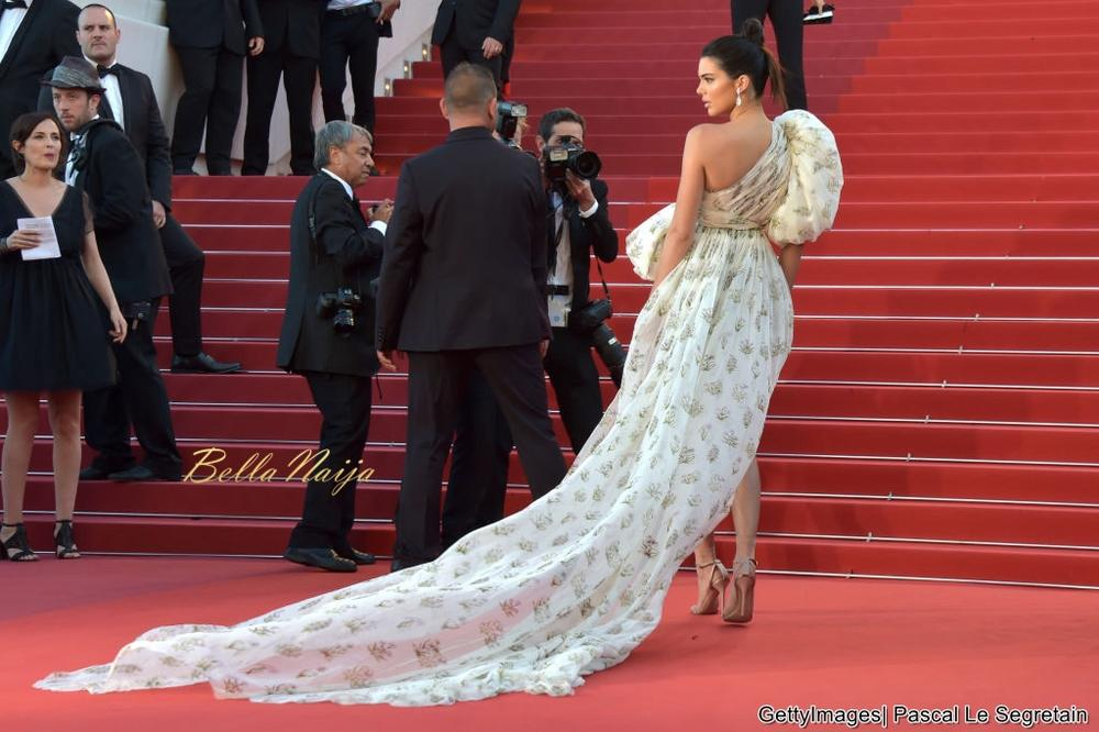 Kendall Jenner Wears Socks With Sandals on the Cannes Red Carpet