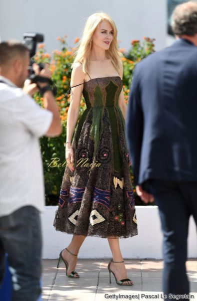 Golden Girl! Nicole Kidman Stuns in Print at the #Cannes2017 Festival