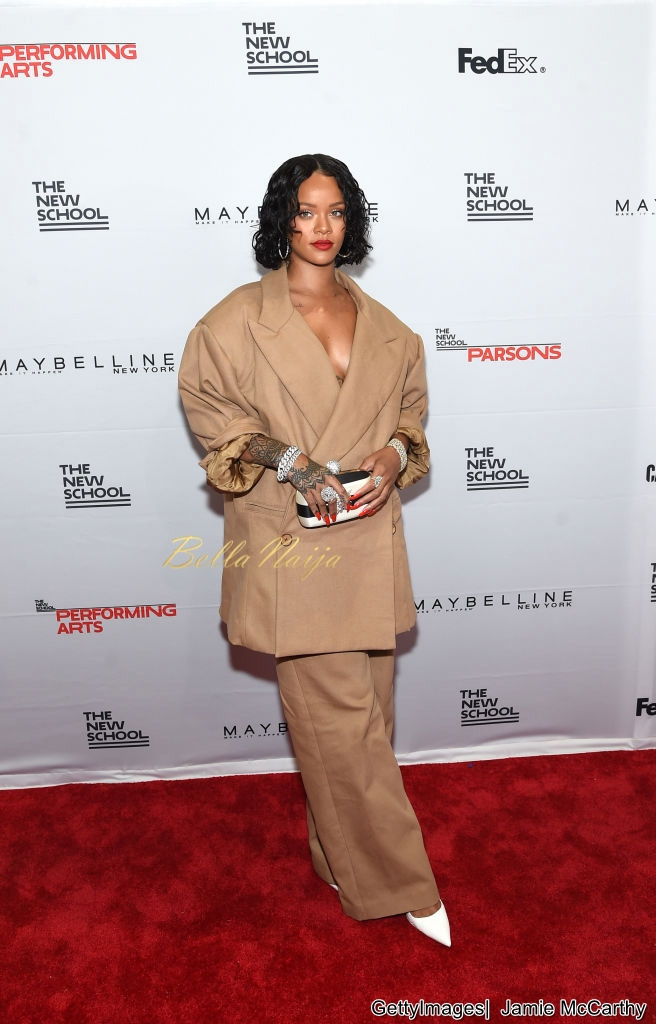 Rihanna Honoured the 69th Annual Parsons Benefit Event