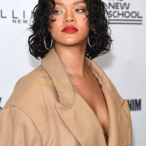 Rihanna attended the 69th Annual Parsons Benefit on Monday night, where she was being honoured for her work both as a designer and for promoting social good.