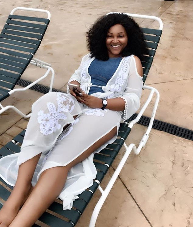 Mercy Aigbe Gentry Vacation