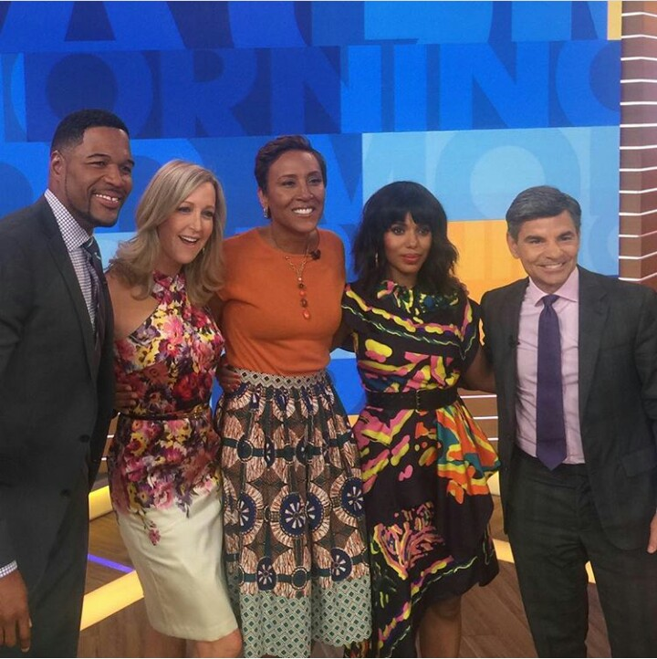 Good Morning America Scandal : Kerry washington talks about the end of scandal on good