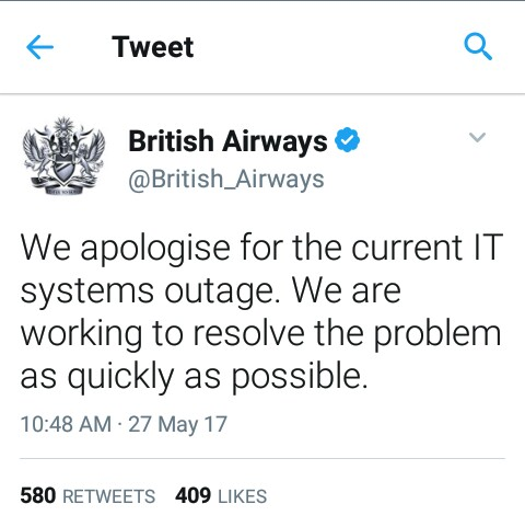 BellaNaija - British Airways cancel Flights due to IT Failure