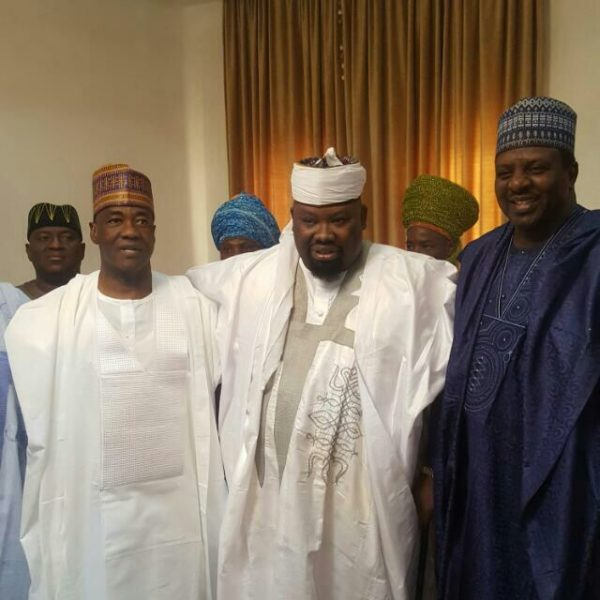 Rt. IG of Police MD Abubakar, The Dan Amana Dutse and Sen Sanusi Dagash