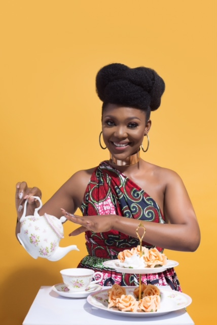 Love it! Beauty Entrepreneur shares Ankara Tea Party Inspired Photos