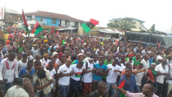 """This second coming of Buhari portends goodwill"" - IPOB - BellaNaija"