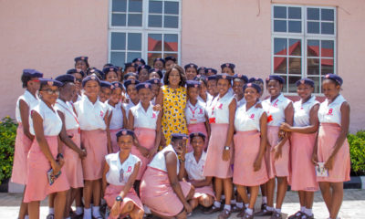 Nollywood Star Ireti Doyle Mentors Secondary School Kids in Honour of Her 50th Birthday