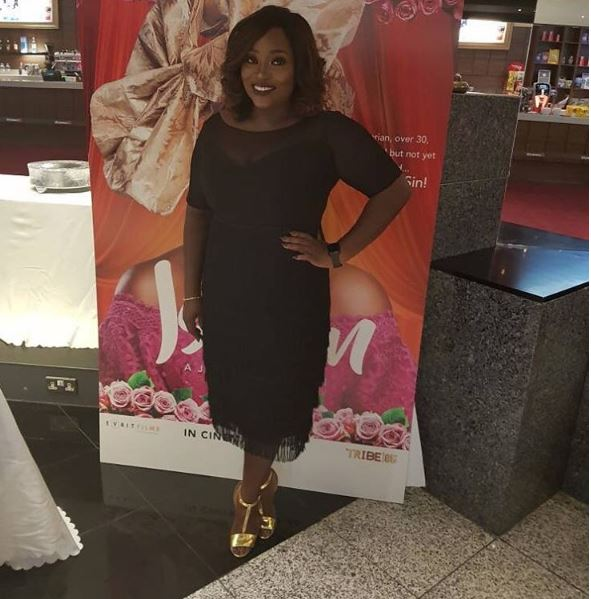 #IsokenTheMovie: First Photos of Dakore Egbuson Akande, Funke Akindele Bello, Bolanle Olukanni & More at the Premiere in London