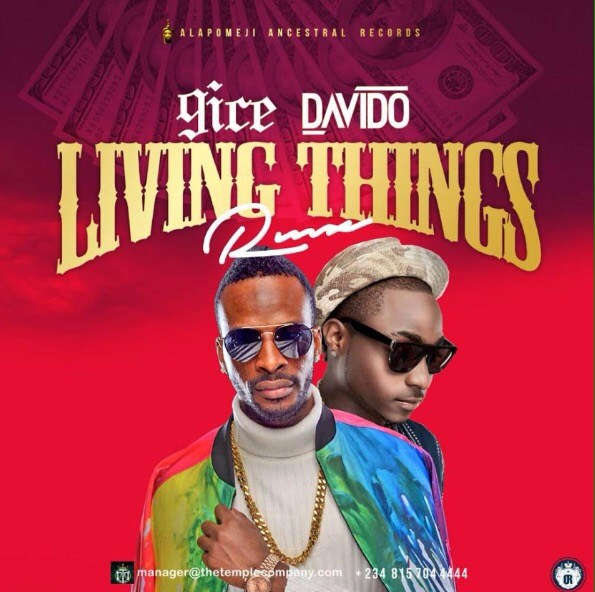 New Music: 9ice feat. Davido – Living Things (Remix)