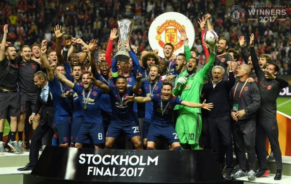 Manchester United Defeats Ajax to win Club's First Europa League Trophy