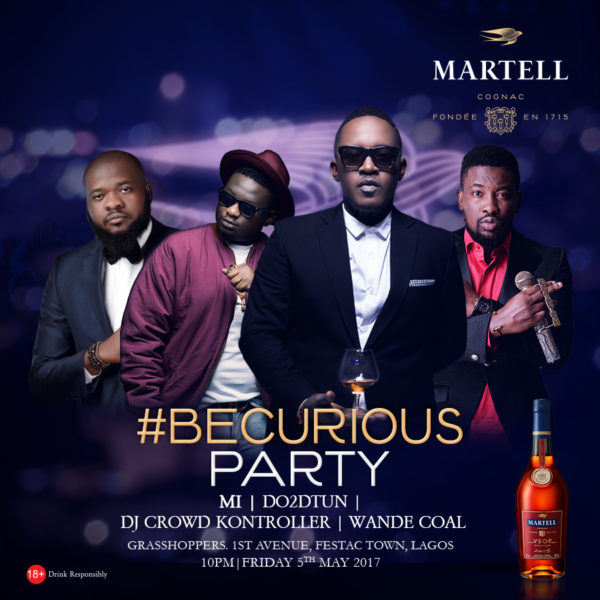 Martell party festac bellanaija ad