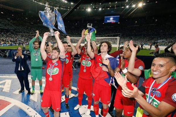 PSG Defeats Angers to Win French Cup