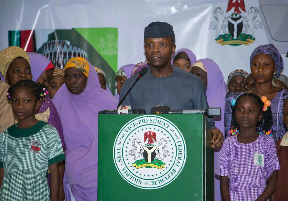 With N30k A Month You Can Buy A House Under The Incoming Family Home Fund – Osinbajo
