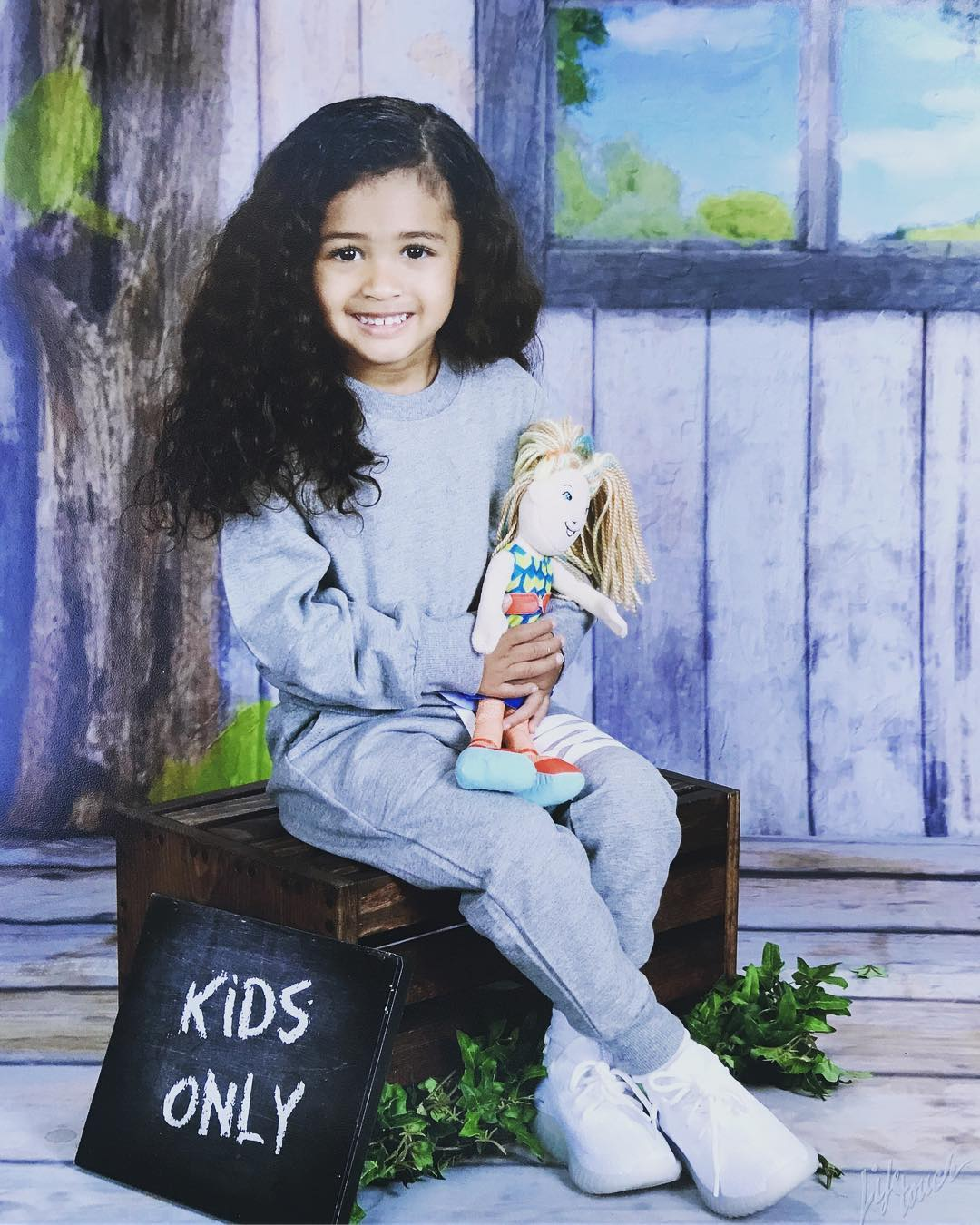 BellaNaija - Chris Brown celebrates His Daughter Royalty as she turns 3 Today