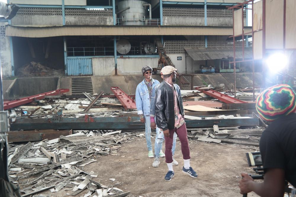 "BellaNaija - Mr 2Kay shoots Video for Lastest Single ""Count It All Joy"" | See B.T.S Photos"