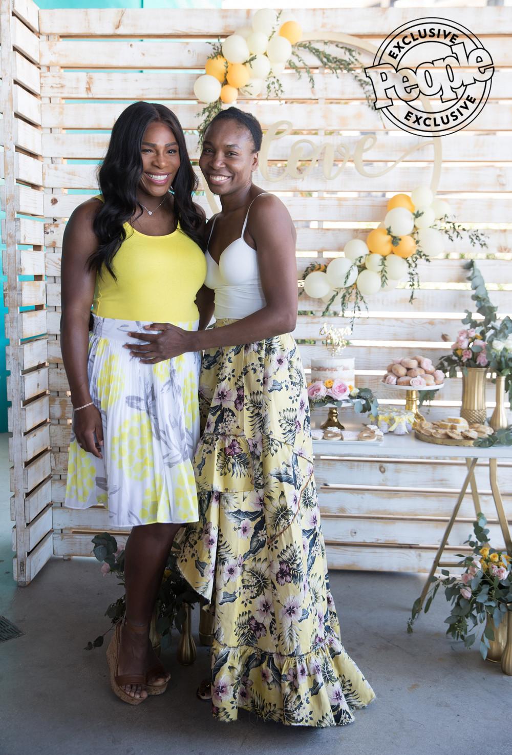 Serena Williams is 'Nacho Average Bride' for her Bridal Shower in Miami