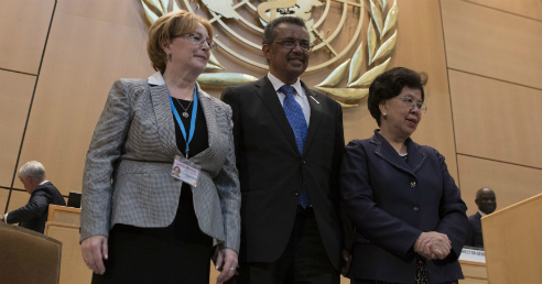 Tedros Adhanom Elected New Head of WHO