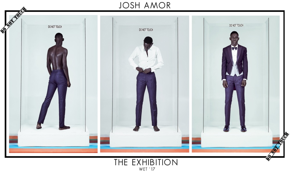 Menswear Designer Josh Amor's New Wet 2017 Collection 'The Exhibition'