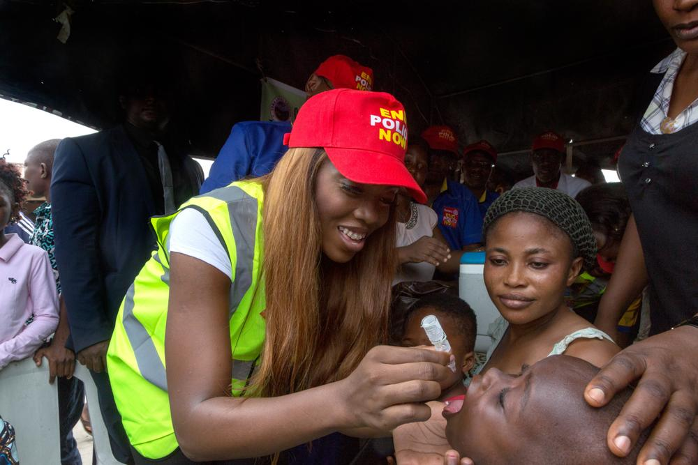 Tiwa Savage signed as Rotary Celebrity Ambassador for Polio Eradication