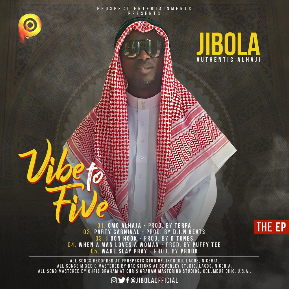BellaNaija - New EP: Jibola - Vibe To Five