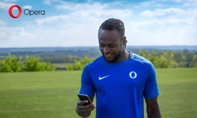 Victor Moses Lands Juicy Deal with Opera Mini