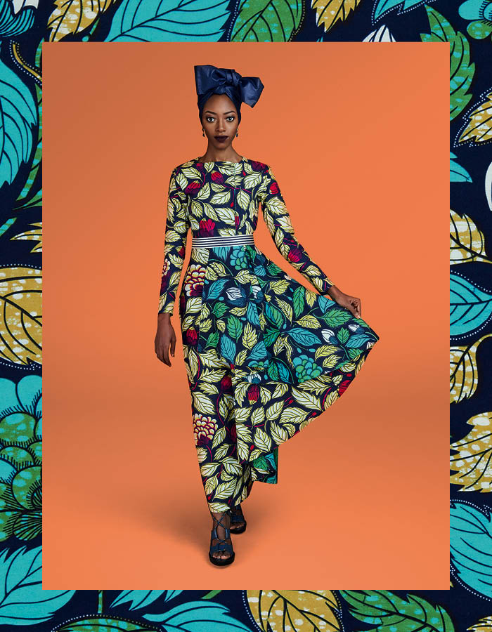 Vlisco Ramadan Campaign: Here's Your First Look at the Campaign featuring Fatima Togbe as New Brand Ambassador