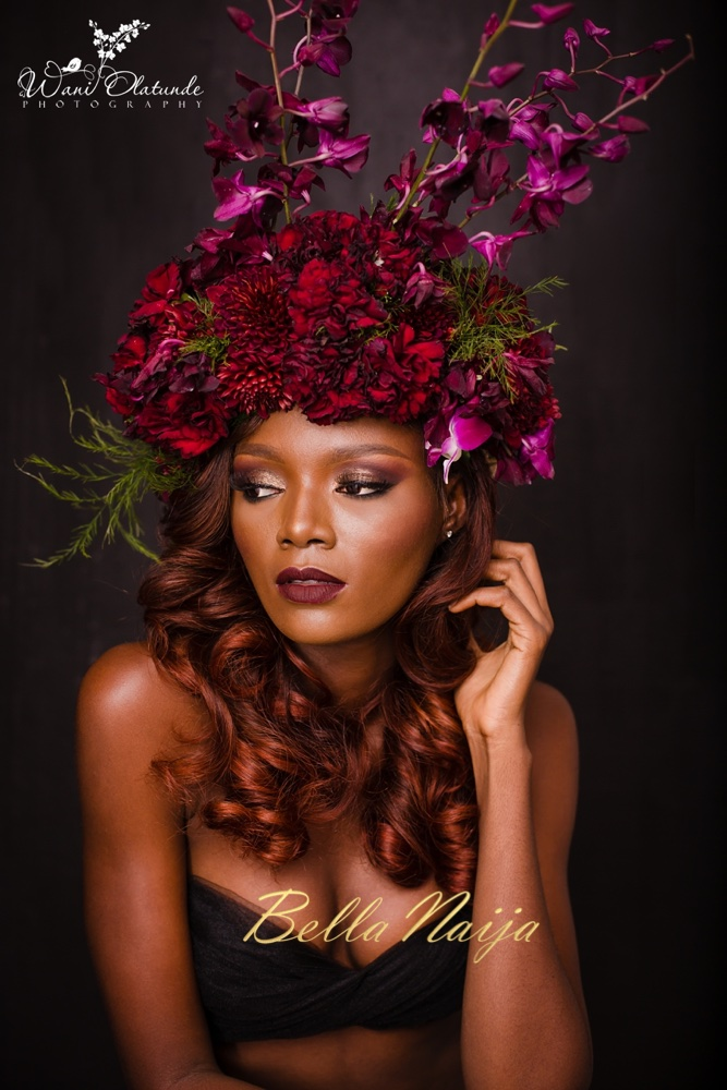 For the Love of Flowers! See this Beauty Shoot by Wani Olatunde Photography