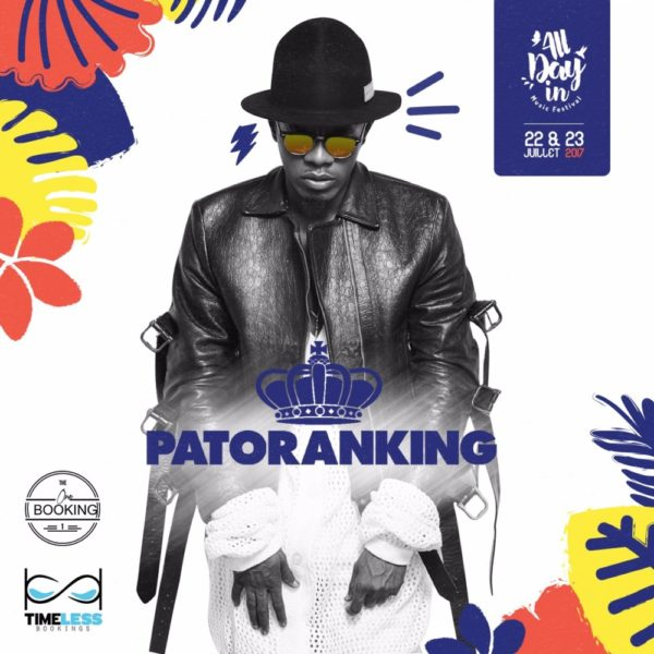 BellaNaija - Sky Level! Patoranking billed to Headline 2017 All Day In Music Festival in Guadelope