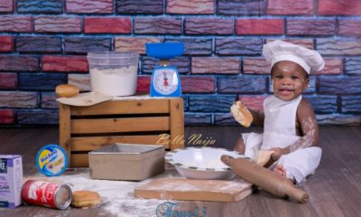 BN Living: The Cutest Chef Ever! See Abner's 1st Birthday Photos by Four23 Photography