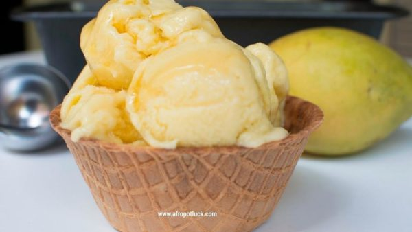 BN Cuisine: Homemade Mango Ice-Cream Recipe by Afropotluck