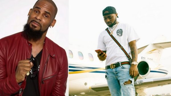 "Global Waves! R Kelly remixes Davido's Hit Song ""IF"" 