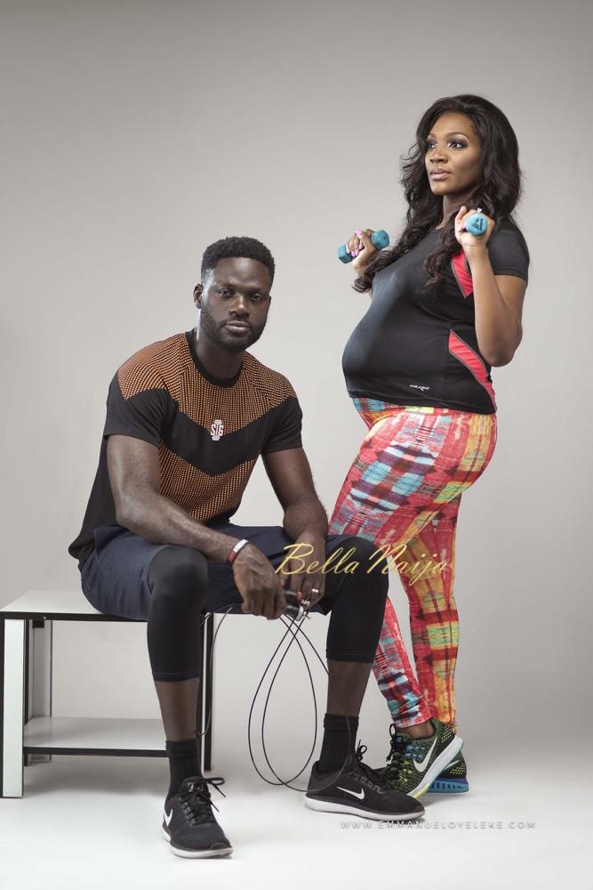 BN Living: See 'Shredder Gang' Boss Bunmi in her Cute Maternity Photos