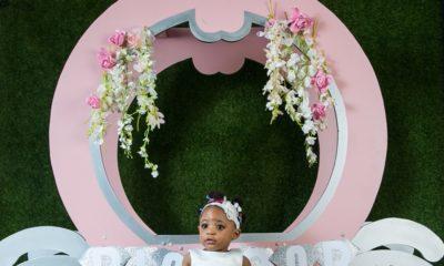BN Living: Diamond Shines Bright in her 1st Birthday Shoot!?