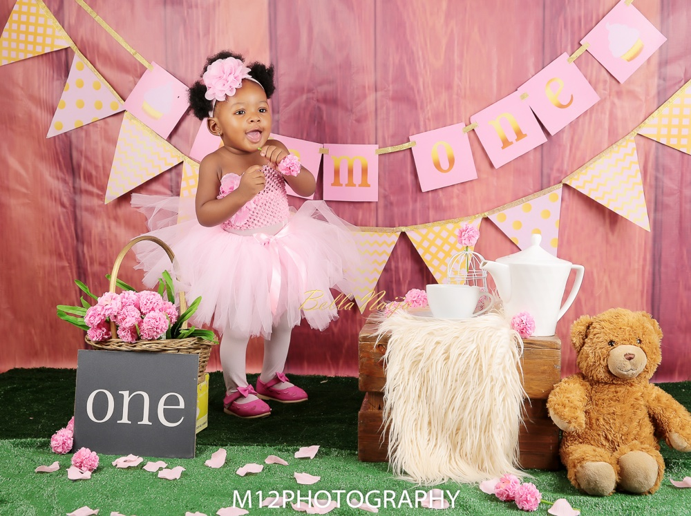 BN Living: See Eleora's Cute First Birthday & Family Photos | M12 Photography