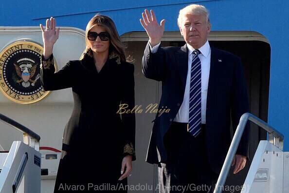 Again! Melania Trump avoids holding President Trump's Hand in Public