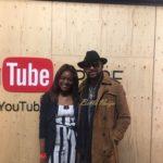 Gbemisola Isimi with Banky W