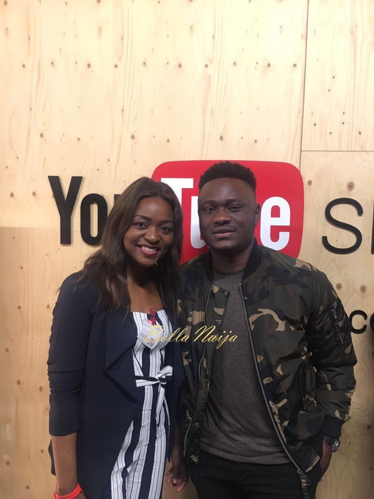 Gbemisola Isimi with Moelogo