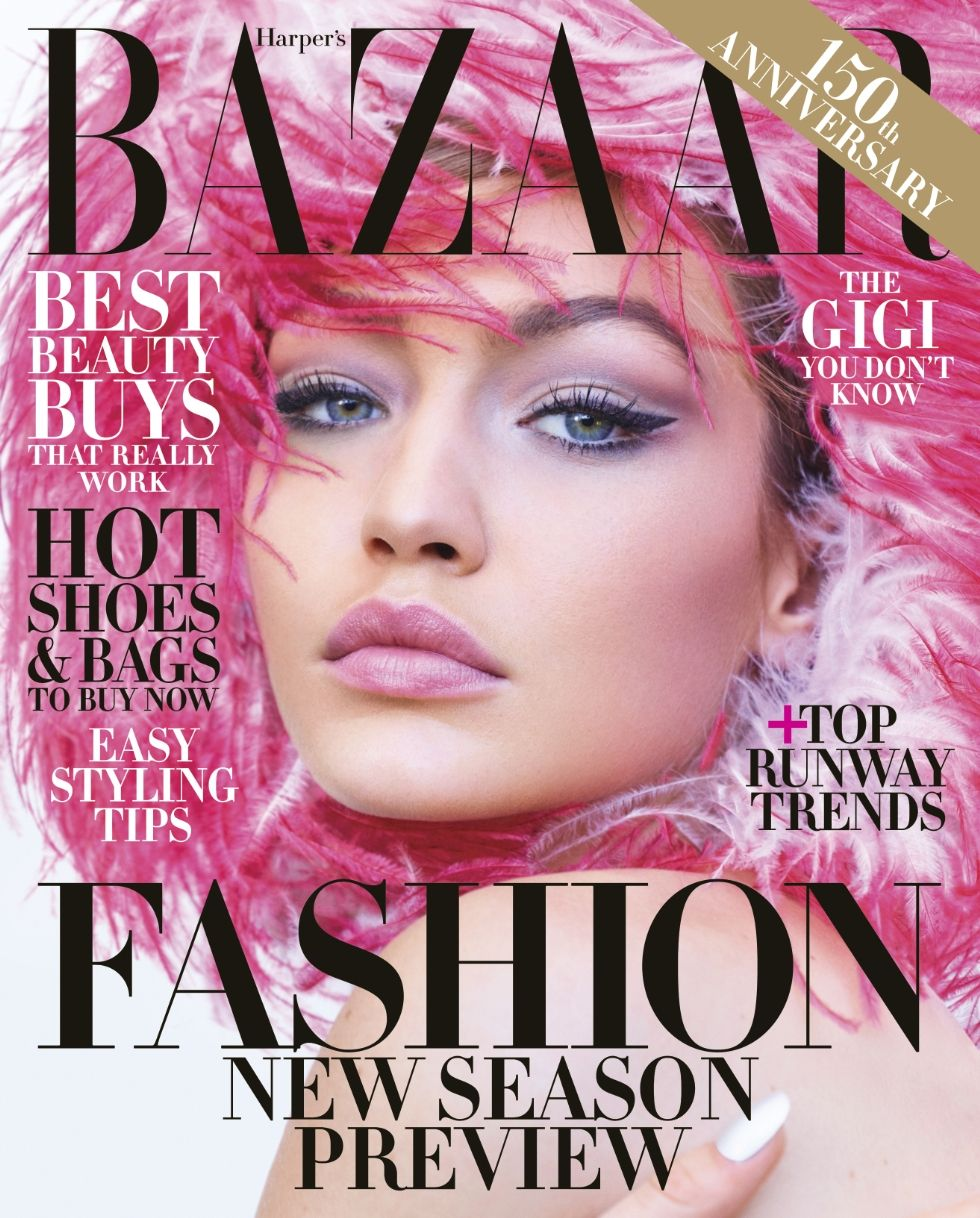 Gigi Hadid is Space ready in Harper Bazaar's Magazine June 2017 Edition